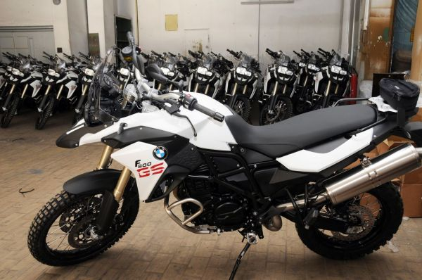 Bienvenue  au BMW Moto GS Trophy 2012.