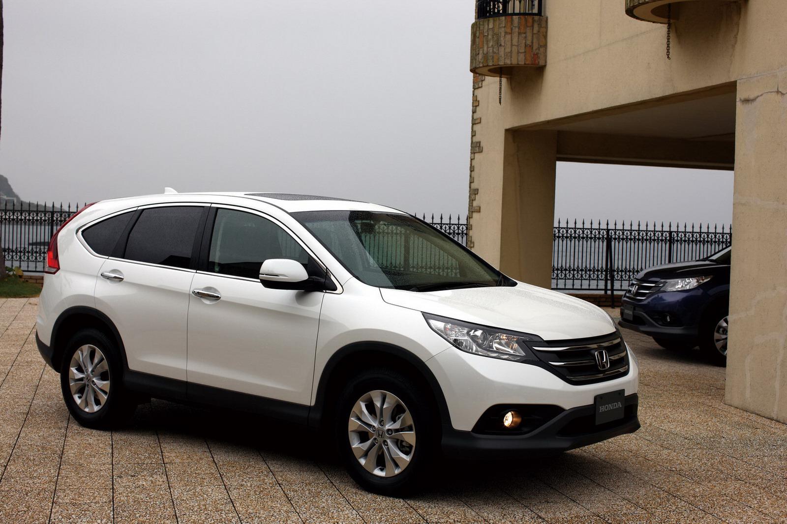 Ein neuer Honda SUV zum Winter