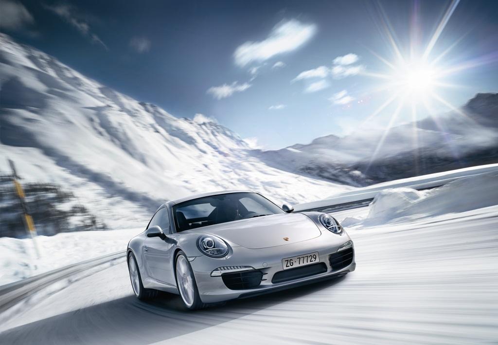 Porsche Sport Driving School Suisse Winterfahrtrainings