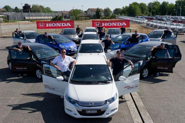 Honda ist offizieller Partner der World Gymnaestrada 2011