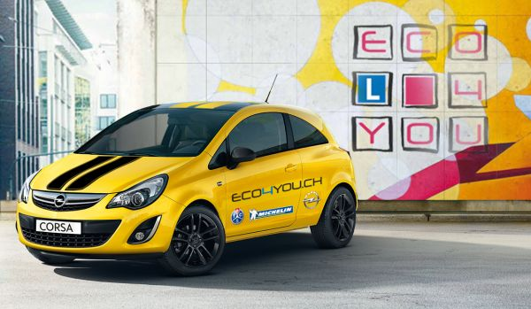 Opel organise le 12e ECO4YOU Challenge, en collaboration avec le TCS et Michelin