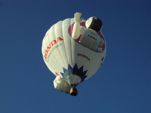 Honda au 36e Festival International de Ballons de Château-d'Oex