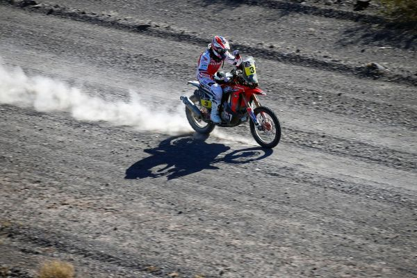 Das offizielle Honda TEAM HRC blickt zufrieden auf die Dakar 2014 zurück