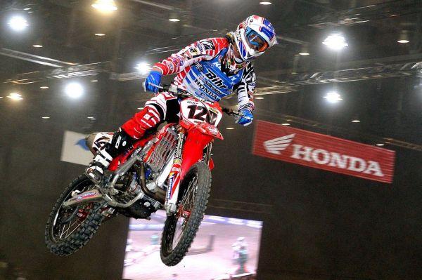 Honda au 29e Monster Energy International Supercross de Genève (5 – 6.12.2014)