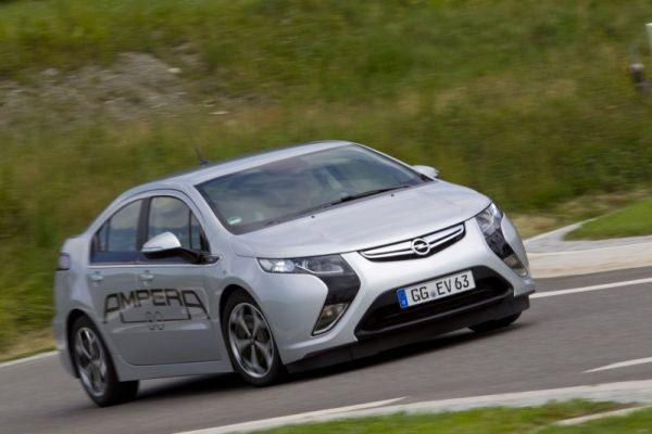 Opel Ampera : cumul du silence et de l'usage quotidien.