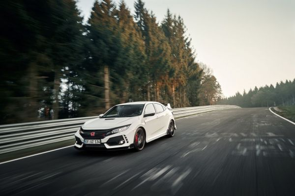 Nurburgring: Honda Civic Type R 2017
