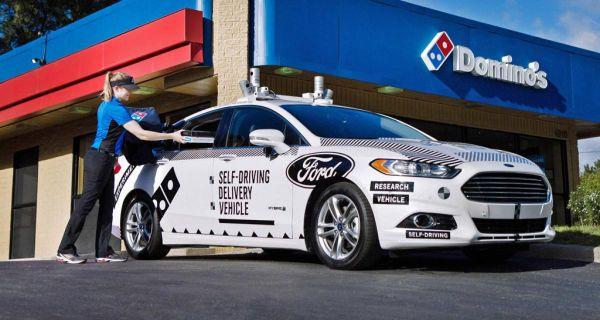 Ford und Domino's Pizza liefern zusammen
