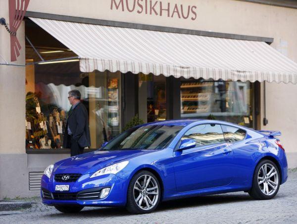 Hyundai lance en Suisse le Genesis Coupé
