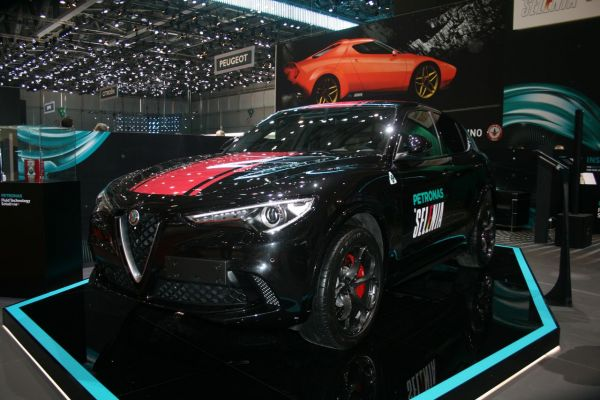 GIMS 2018, Salon international de l'automobile de Genève, Alfa Roméo