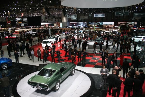 GIMS 2018, Salon international de l'automobile de Genève, FORD