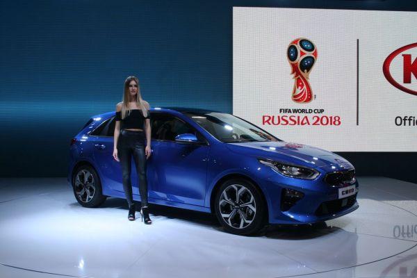 GIMS 2018, Salon international de l'automobile de Genève,  KIA Motors