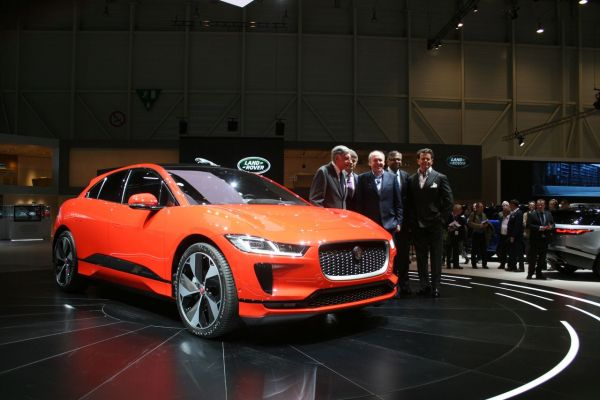 GIMS 2018, Salon international de l'automobile de Genève,  JAGUAR