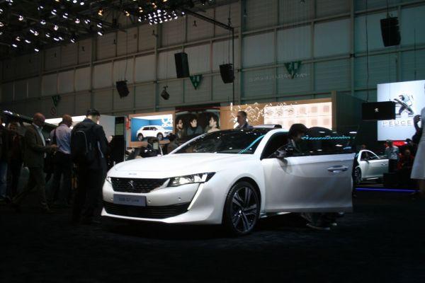 GIMS 2018, Salon international de l'automobile de Genève, Peugeot