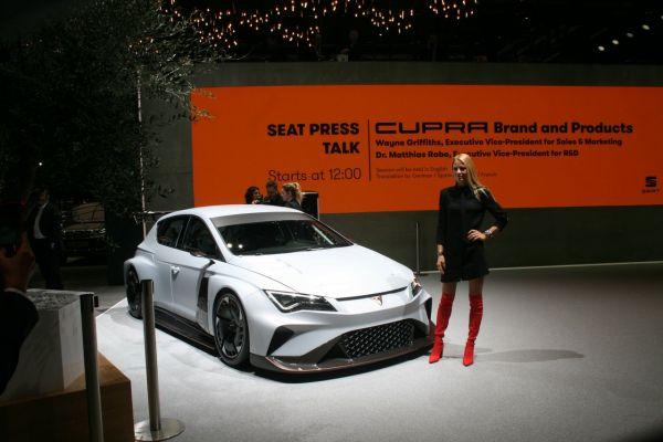 GIMS 2018, Salon international de l'automobile de Genève,  SEAT