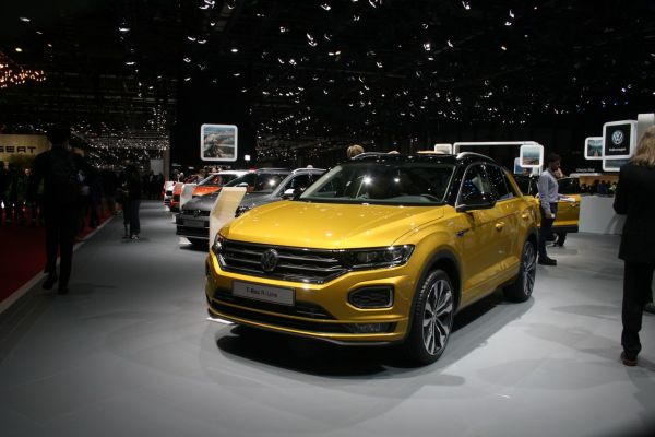 GIMS 2018, Salon international de l'automobile de Genève,  VOLKSWAGEN