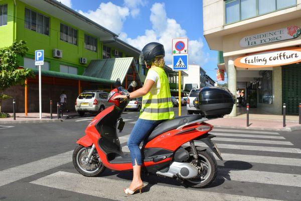 TCS: Deux roues : s'habiller léger égal danger