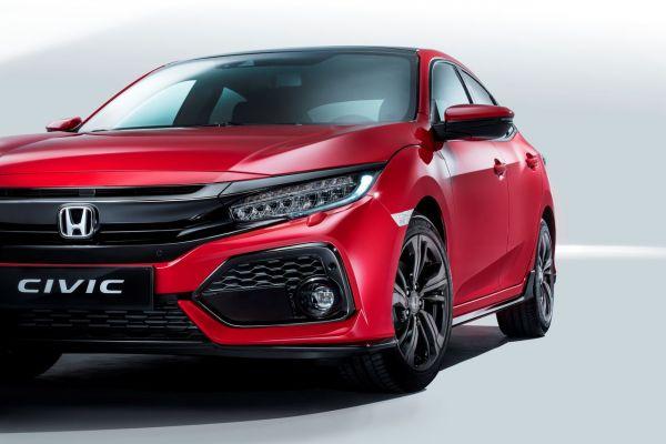 Honda präsentiert Civic Fünftürer Hatchback 2017
