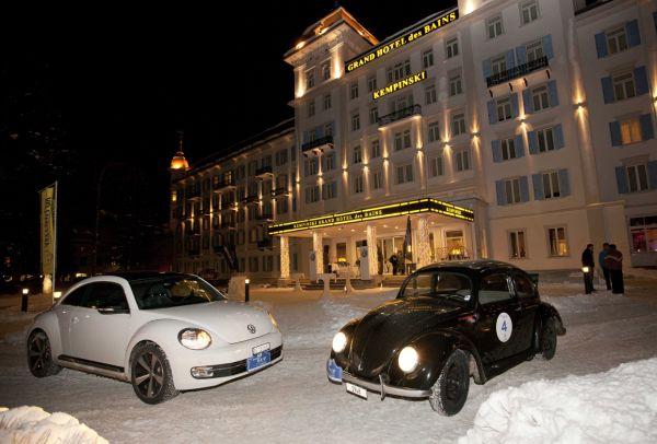 VW Käfer und Beetle erfolgreich am WinterRAID 2012