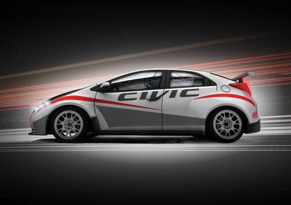 Honda Civic startet an der Tourenwagen-Weltmeisterschaft WTCC