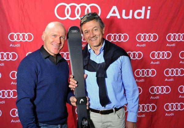 Cuche et Larghi, le patron d'Audi Suisse