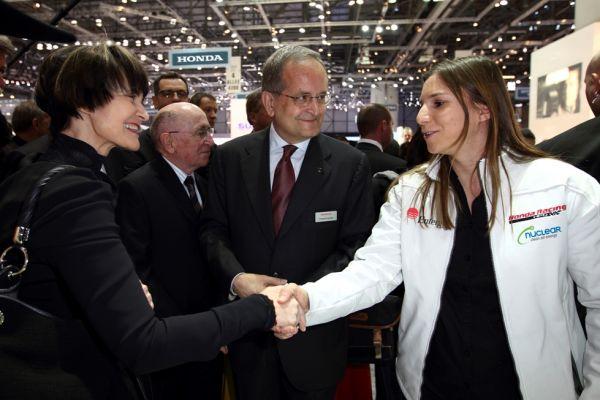 Micheline Calmy rey rencontre Simona de Silvesttro