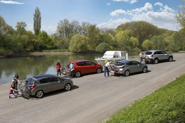 Mit FlexFix-Fahrradträgern von Opel bequem ins Frühjahr starten