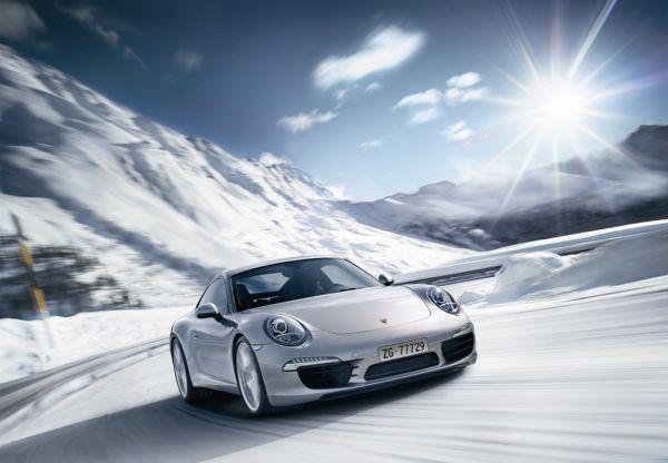 Porsche Sport Driving School Suisse: Winterfahrtrainings 2012