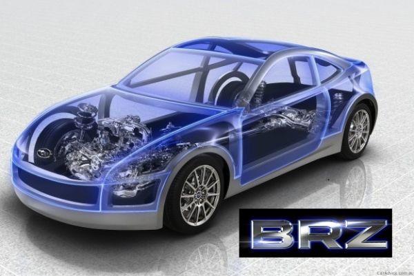 Der neue Sportwagen von Subaru heisst SUBARU BRZ