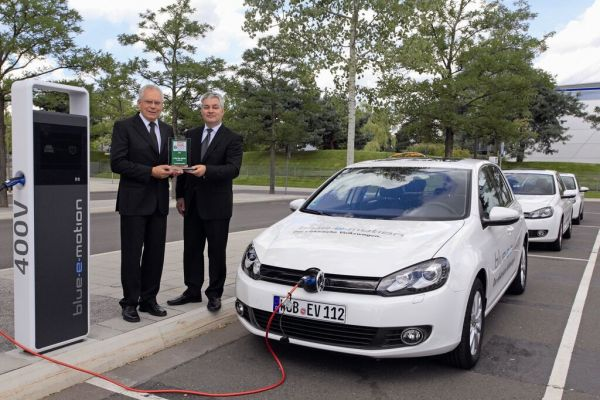 «E-Car Award 2011» pour la Golf Blue-e-Motion