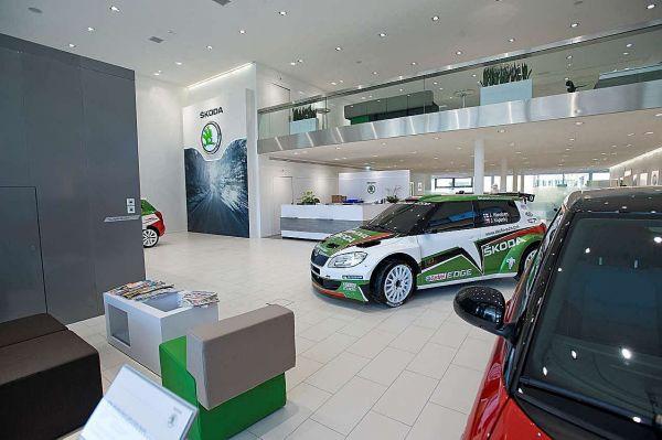 Le nouveau look de ŠKODA brille de tous ses feux à AMAG RETAIL Autowelt Zurich