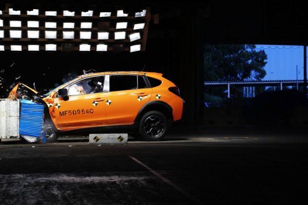 Subaru XV obtient le meilleur résultat de 5 étoiles  au test de sécurité Euro-NCAP