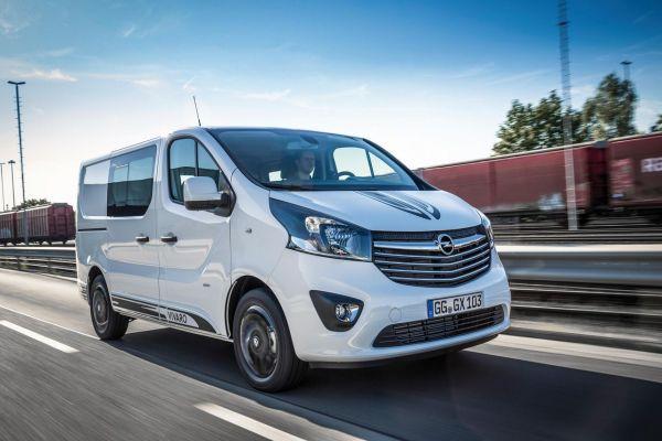 Nouvel Opel Vivaro Sport