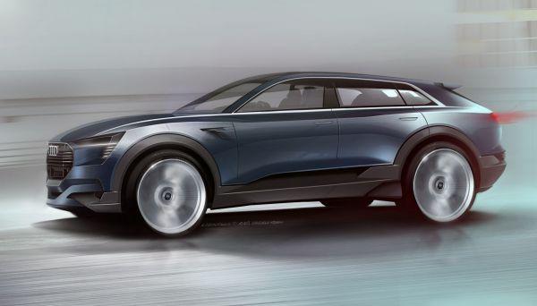 Audi e-tron quattro concept auf der IAA 2015