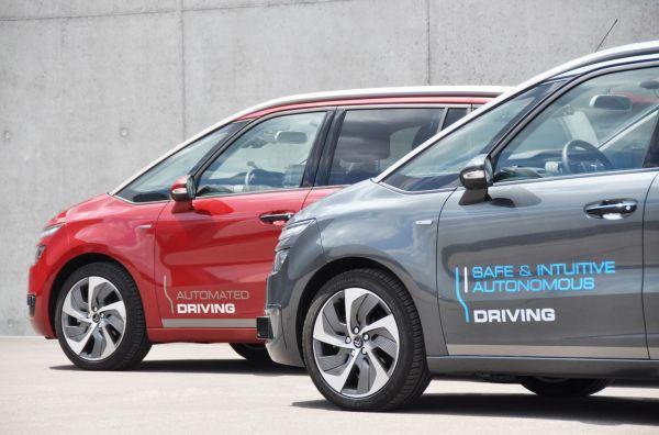 Citroën: conduite autonome