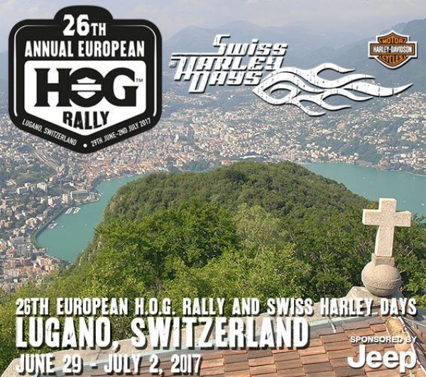 Swiss Harley days and 26th european HOG rALLY
