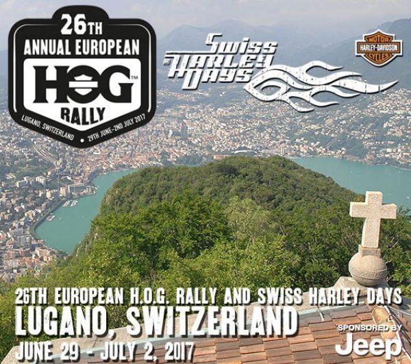 Swiss Harley days and 26th european HOG rALLY