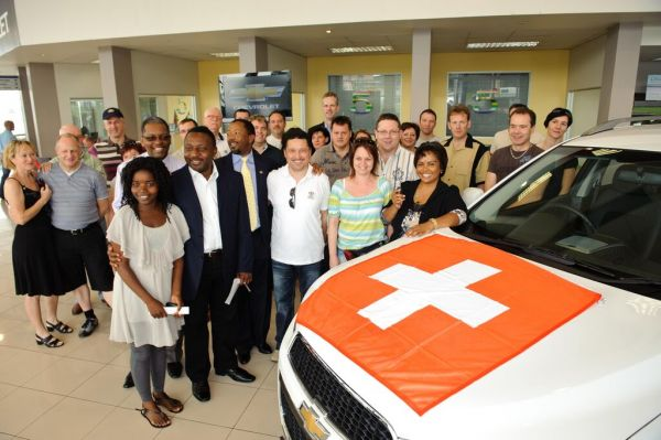 Chevrolet Suisse fait don de Captiva à SOS Villages d'enfants de Johannesburg
