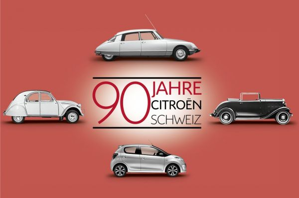 Citroën célèbre s es 90 ans en Suisse