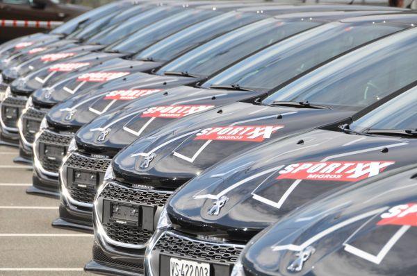 Peugeot: Migros  a choisi la Peugeot 208