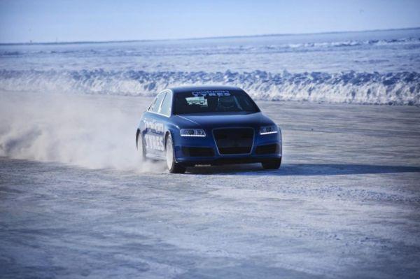 Nouveau record du monde sur glace avec les pneus hiver Nokian : 331,61 km/h