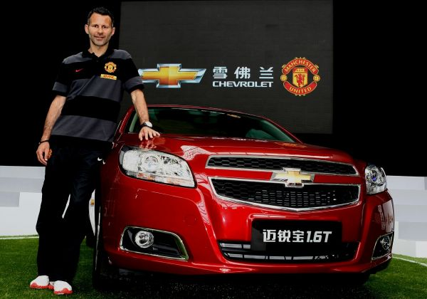 Chevrolet: Partenaire automobile officiel du Manchester United