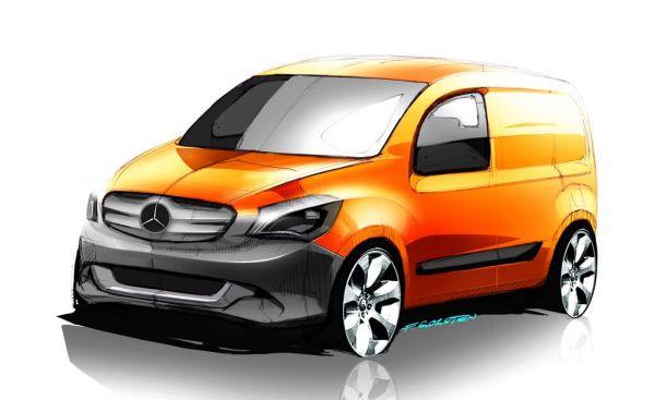 Mercedes-Benz Citan – La nouvelle camionnette de livraison citadine