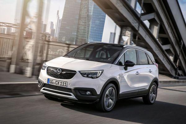 L'Opel Crossland X dans toute son élégance