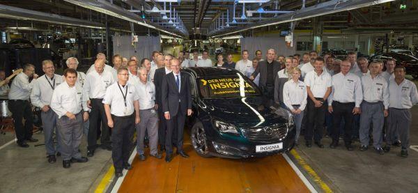 Opel démarre la production de la nouvelle Insignia à Rüsselsheim