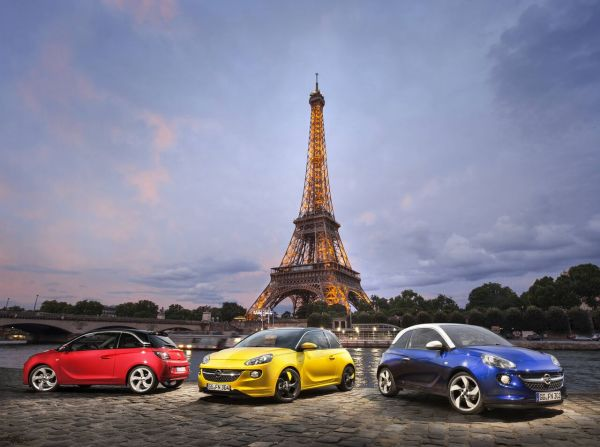 Première mondiale à Paris : la nouvelle Opel ADAM
