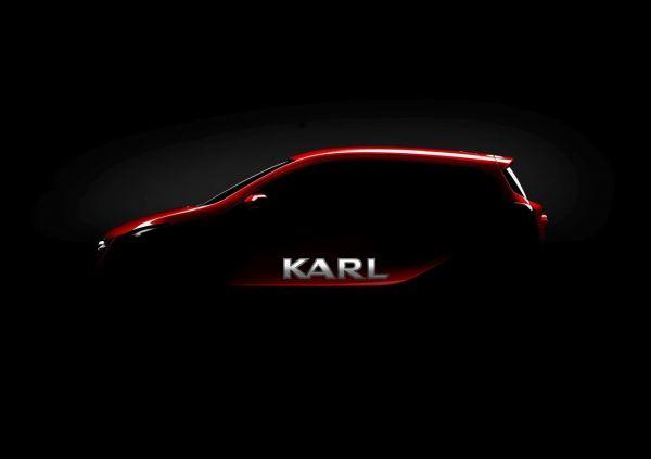 Un grand nom pour une nouvelle petite citadine : Opel présente Karl