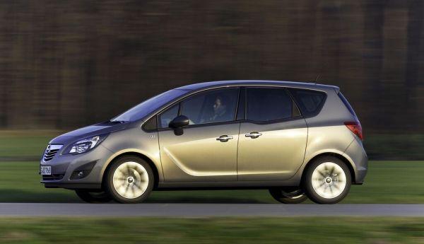 Opel wertet Meriva weiter auf