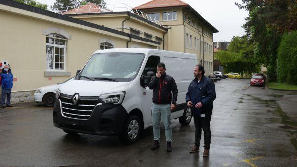 HUG, Genfer Universitätskliniken und Renaults neuer Master Z. E, gute Verbindung?