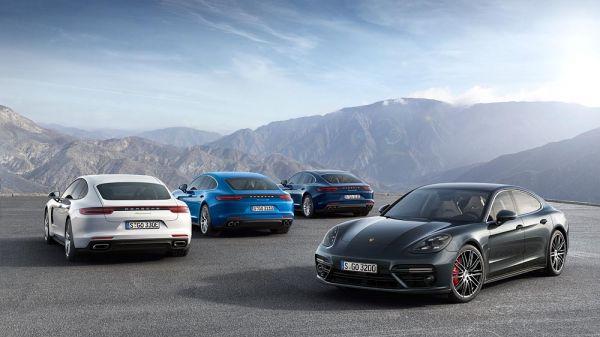 Porsche: Panamera Hybrid geht an den Start
