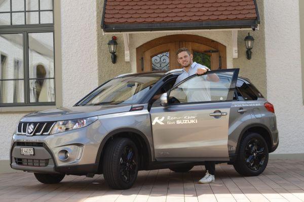 Remo KÄSER powered by Suzuki